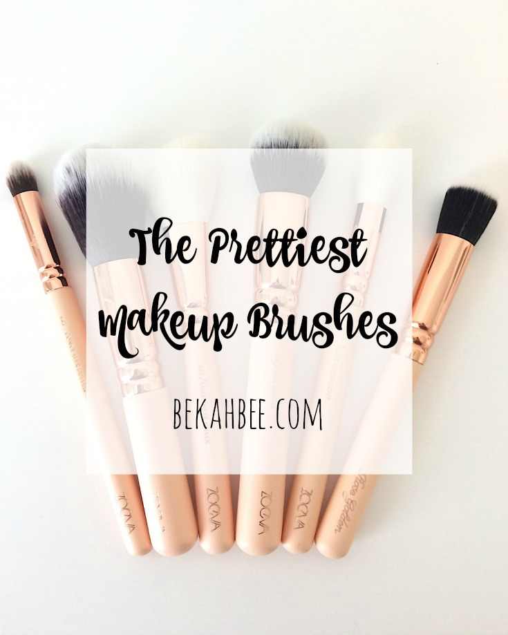 The Prettiest Makeup Brushes