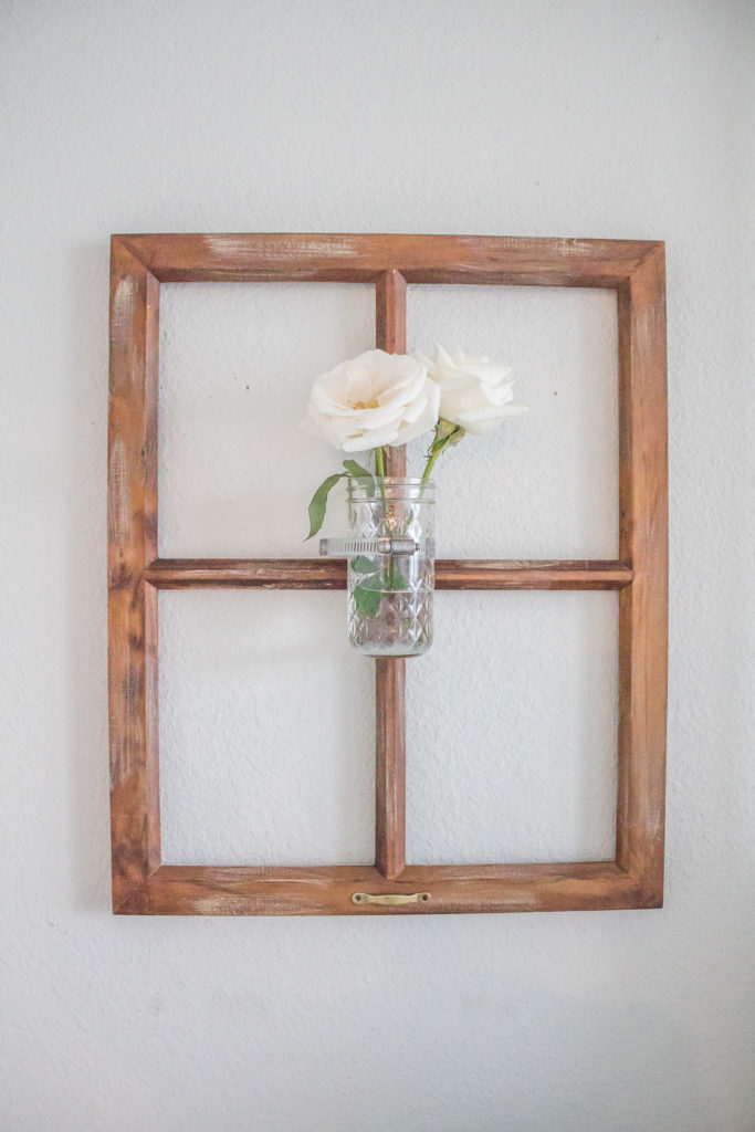 farmhouse style window decor