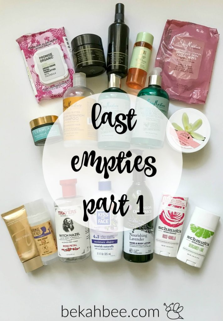 last empties: part 1